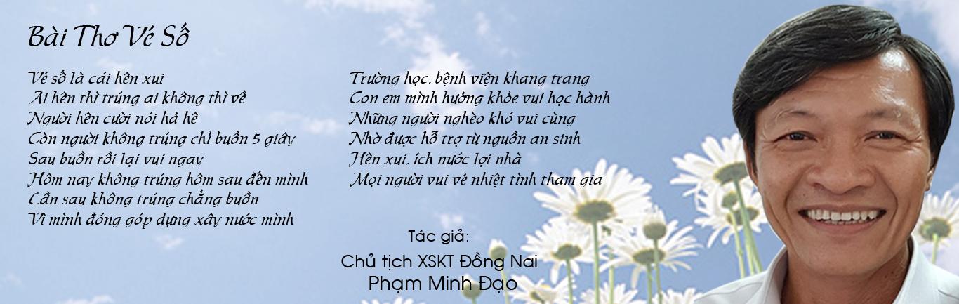 Bài thơ xổ số Đồng Nai