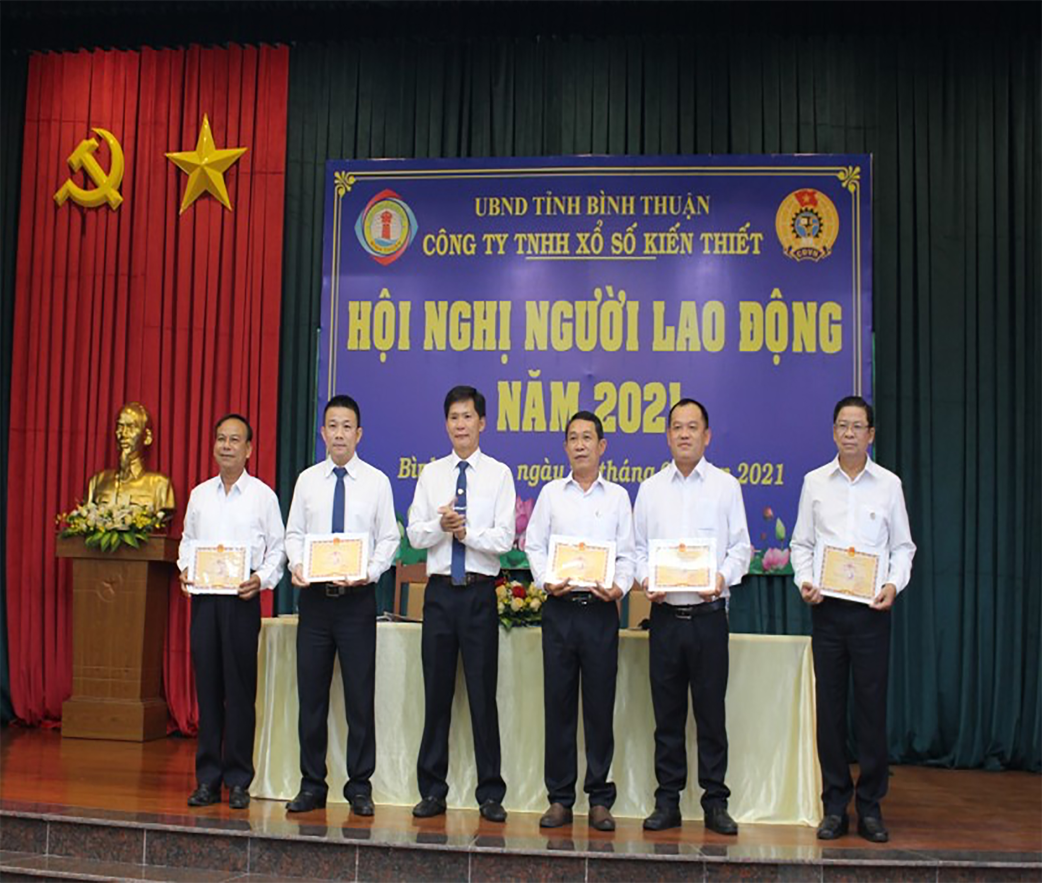 Xổ số kiên thiết Bình Thuận: Phấn đấu tăng tỷ lệ tiêu thụ vé số lên 81%