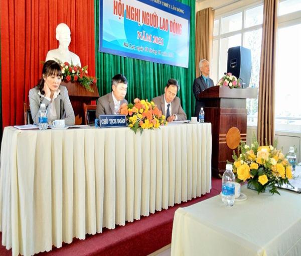 Lâm Đồng: Phát huy quyền dân chủ của người lao động