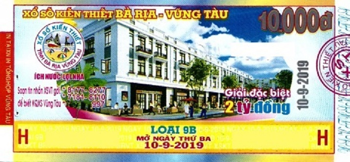 XSKT Bà Rịa - Vũng Tàu: Hơn 1.6000 tỷ đồng chi trả thưởng.