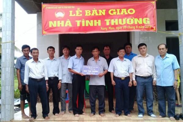 Công ty XSKT Hậu Giang: Trao nhà tình thương cho hộ nghèo huyện Vị Thủy