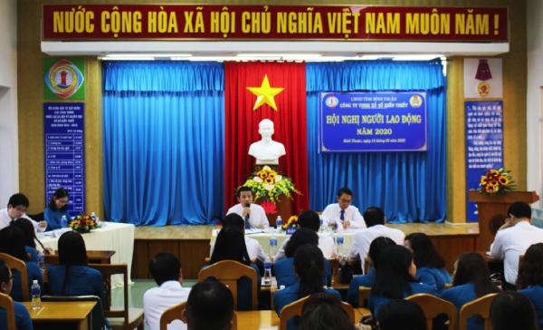 Công ty XSKT Bình Thuận: Phấn đấu đưa tỷ lệ tiêu thụ vé số từ 70% trở lên