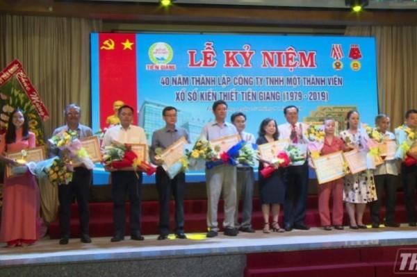 XSKT Tiền Giang: Kỷ niệm 40 năm thành lập