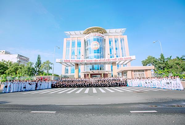 Công ty XSKT Kiên Giang: Đóng góp xây dựng quê hương một cách thiết thực nhất