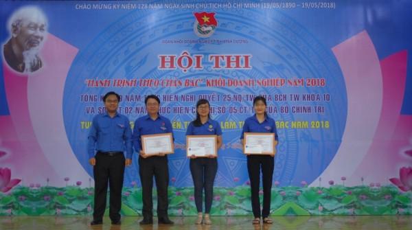 Đoàn viên thanh niên Công ty TNHH MTV Xổ số kiến thiết Bình Dương tham gia hội thi