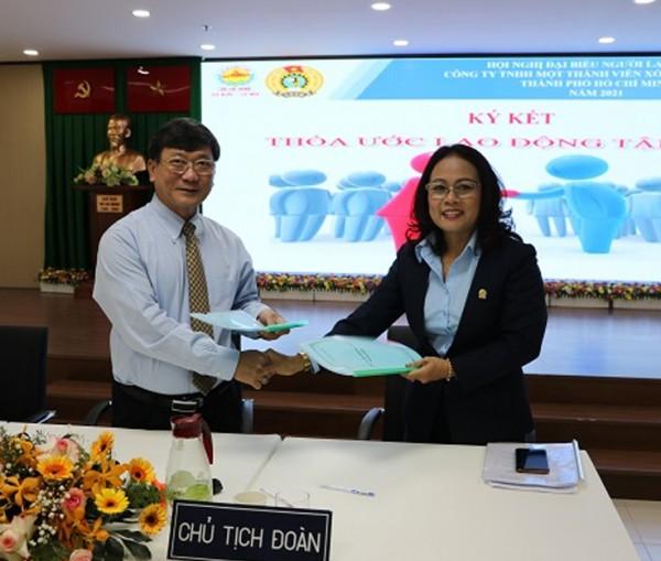 XSKT TP HCM tổ chức Hội nghị đại biểu Người lao động năm 2021