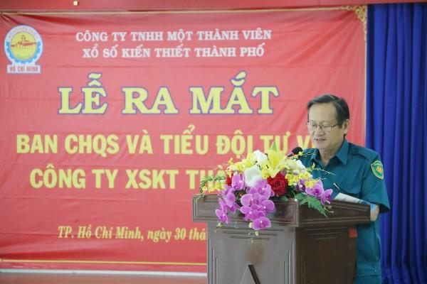 XSKT TP.HCM: Thành lập Ban Chỉ huy Quân sự và lực lượng tự vệ