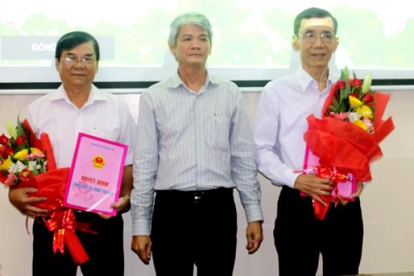 Công ty XSKT Đồng Tháp:  Trao quyết định bổ nhiệm Tân Chủ tịch