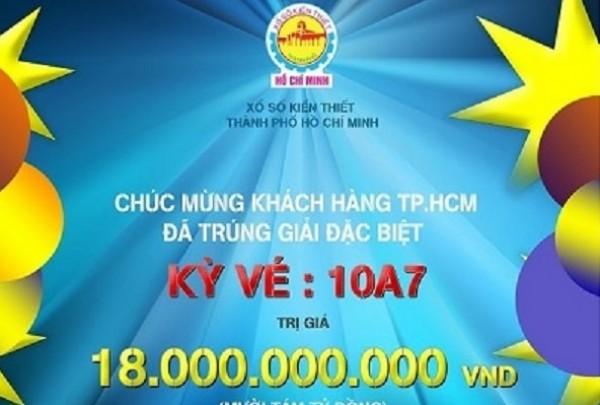Xổ số Kiến thiết TP.HCM: Hơn  3.348 tỷ đồng chi trả thưởng