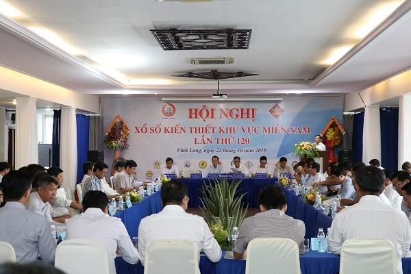 Hội nghị Xổ số Kiến thiết khu vực miền Nam lần thứ 120