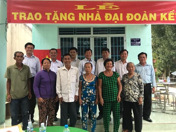 Công ty XSKT An Giang: Trao tặng 05 căn nhà đại đoàn kết tại tỉnh Tây Ninh