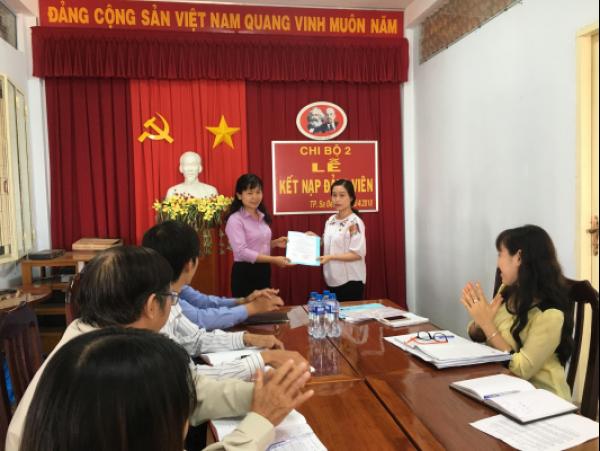 Công ty XSKT Đồng Tháp: Xây dựng Đảng vững mạnh