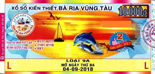 Công ty Xổ số kiến thiết tỉnh Bà Rịa - Vũng Tàu: Công bố thông tin trả thưởng