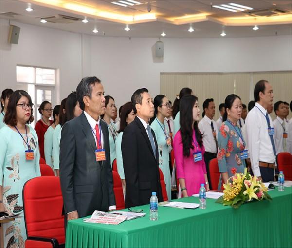 Đại hội Đảng bộ Công ty XSKT tỉnh Vĩnh Long lần thứ VIII nhiệm kỳ 2020 – 2025