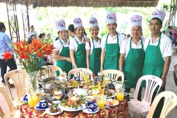 Công ty XSKT Bến Tre: Giành giải nhất Hội thi ẩm thực và họp mặt Ngày Gia đình Việt Nam