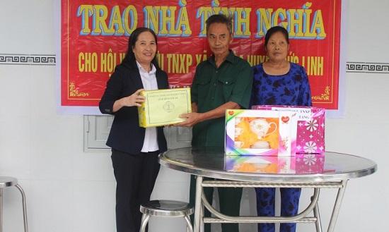 Bình Thuận: Bàn giao nhà tình nghĩa trị giá 50 triệu đồng