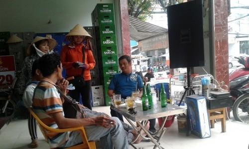 Nghĩa tình xóm vé số  ở Đồng Nai