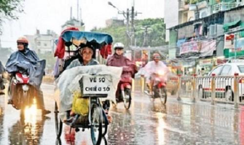 Vui buồn vé số mùa mưa