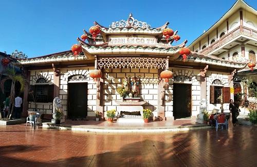 Về miền Đất Mũi đừng quên ghé chùa Phật Tổ Cà Mau