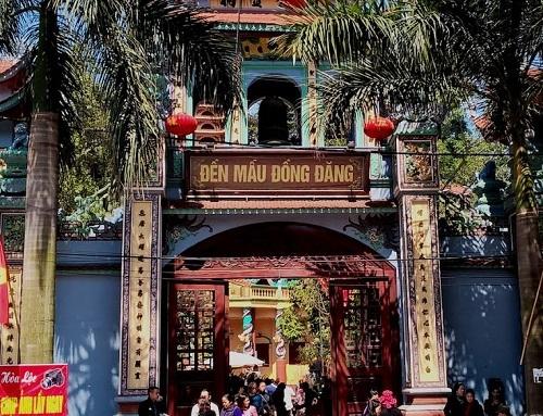 Bí ẩn, linh thiêng đền Mẫu Đồng Đăng xứ Lạng